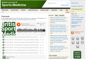 BJSM podcasts